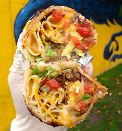 Low Key Burrito Original Lkb Breakfast Burrito Maritime Bicycle Courier Breakfast Burritos Stuffed Peppers Breakfast
