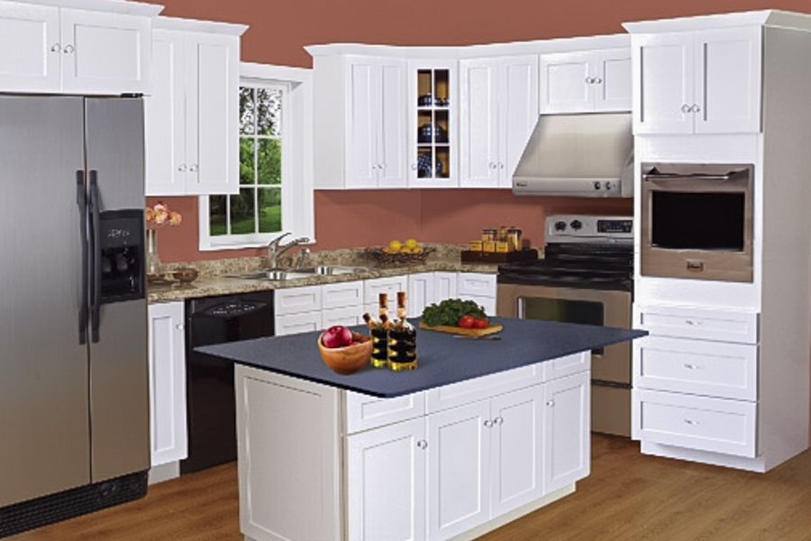 White Shaker Kitchen Cabinet Ideas arcadia white shaker | kitchen cabinets | bargain outlet | ideas