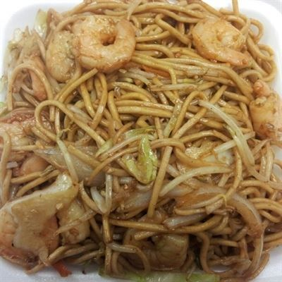 Special Lo Mein Your Choice Of Combination Lo Mein Which Includes Shrimp Chicken And Beef Or Simply Shrimp Lo Mein From Emperor Express In Van Nuys Ca Food