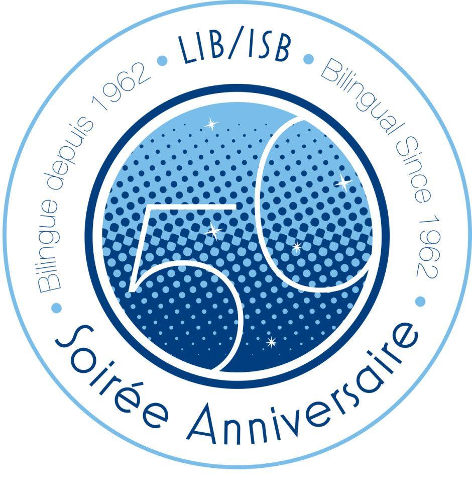 Cucumber + ISB Anniversary logo, 50th anniversary logo