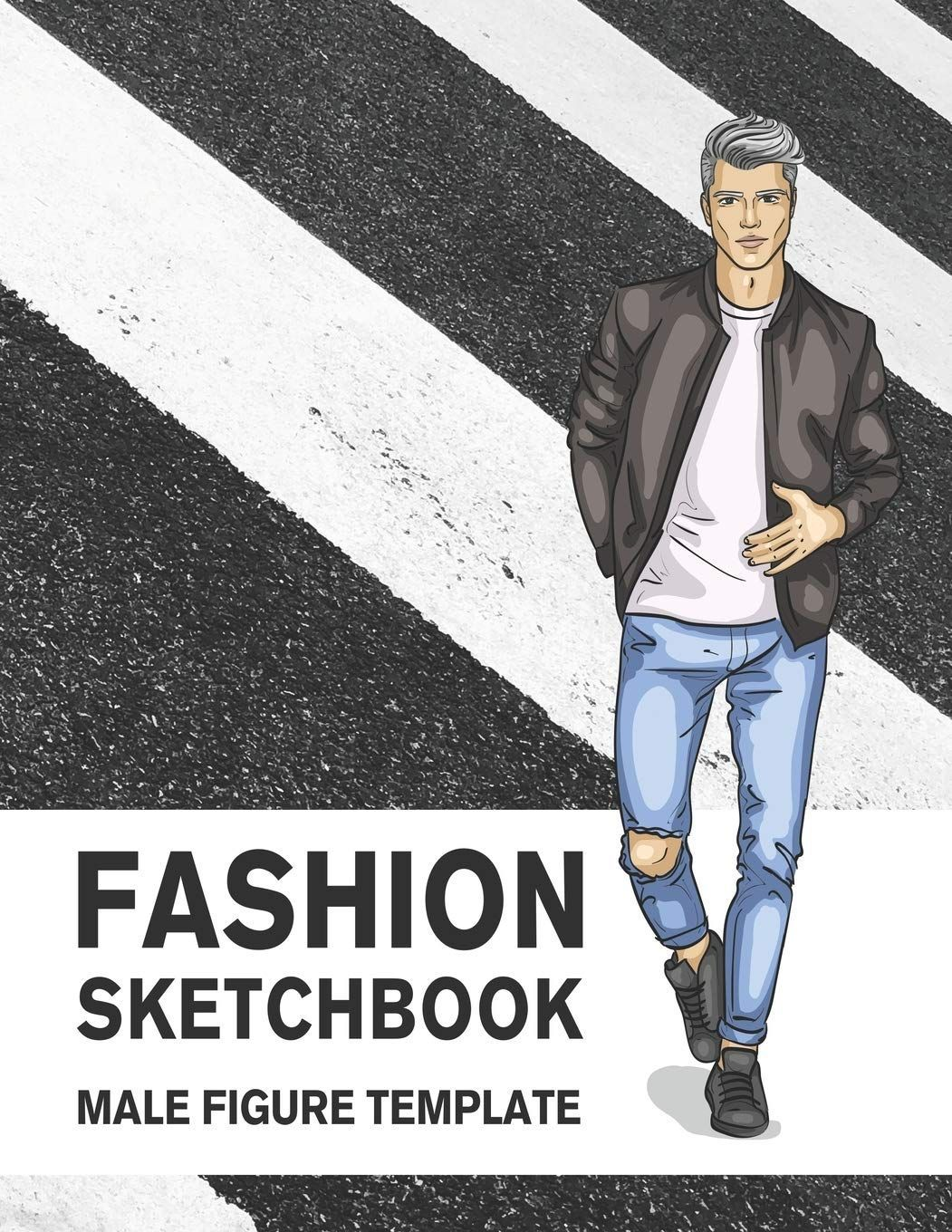 Fashion Sketchbook Male Figure Template: 440 Large Croquis for Easily Sketching ... -  Fashion Sketchbook Male Figure Template: 440 Large Croquis for Easily Sketching Your Fashion Design - #Croquis #Easily #Fashion #fashioneditorial #fashionideas #fashionshow #fashionsketchbook #figure #large #Male #Sketchbook #Sketching #Template