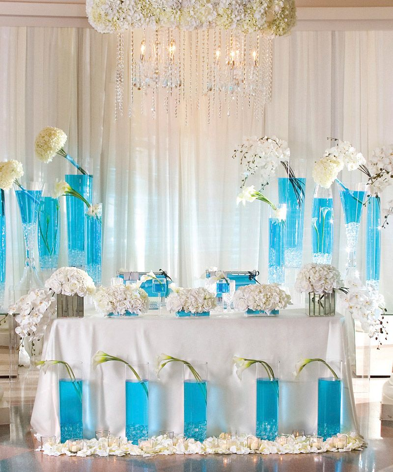 Turquoise Wedding Decoration For 2016