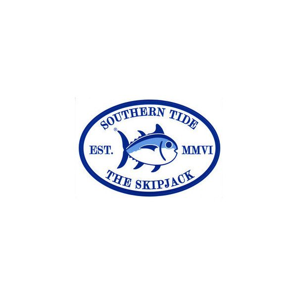 Southern Tide Skip Jack Sticker Southern Tide Tide Logo Preppy Stickers