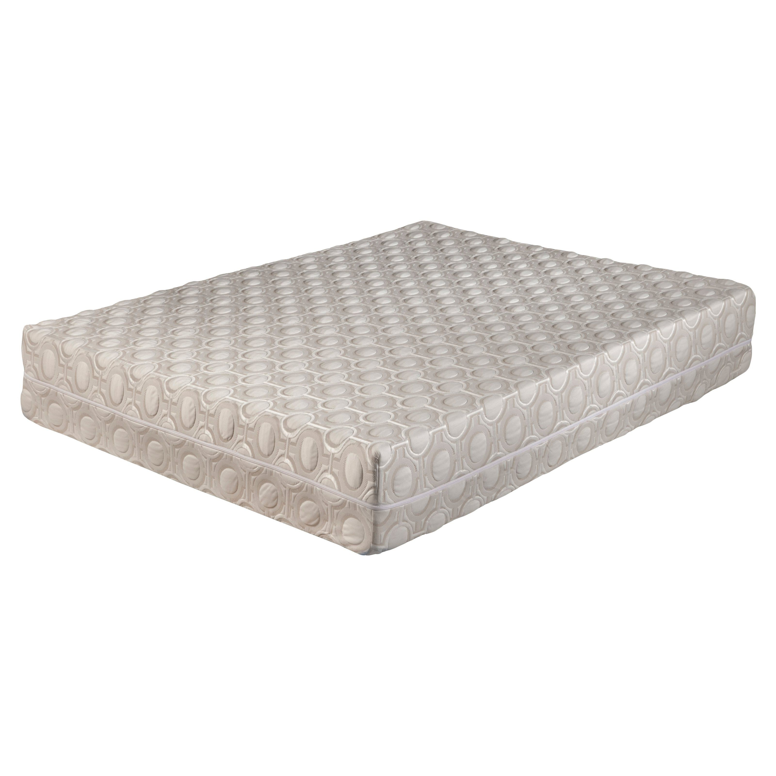 blissful nights blossom 9 in bamboo charcoal memory foam mattress