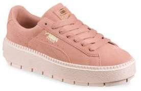 5704b6a2ccf51f PUMA Rock Ridge Suede Platform Sneakers  puma  sneakers  platform  shoes   fashion  womens  womensfashion