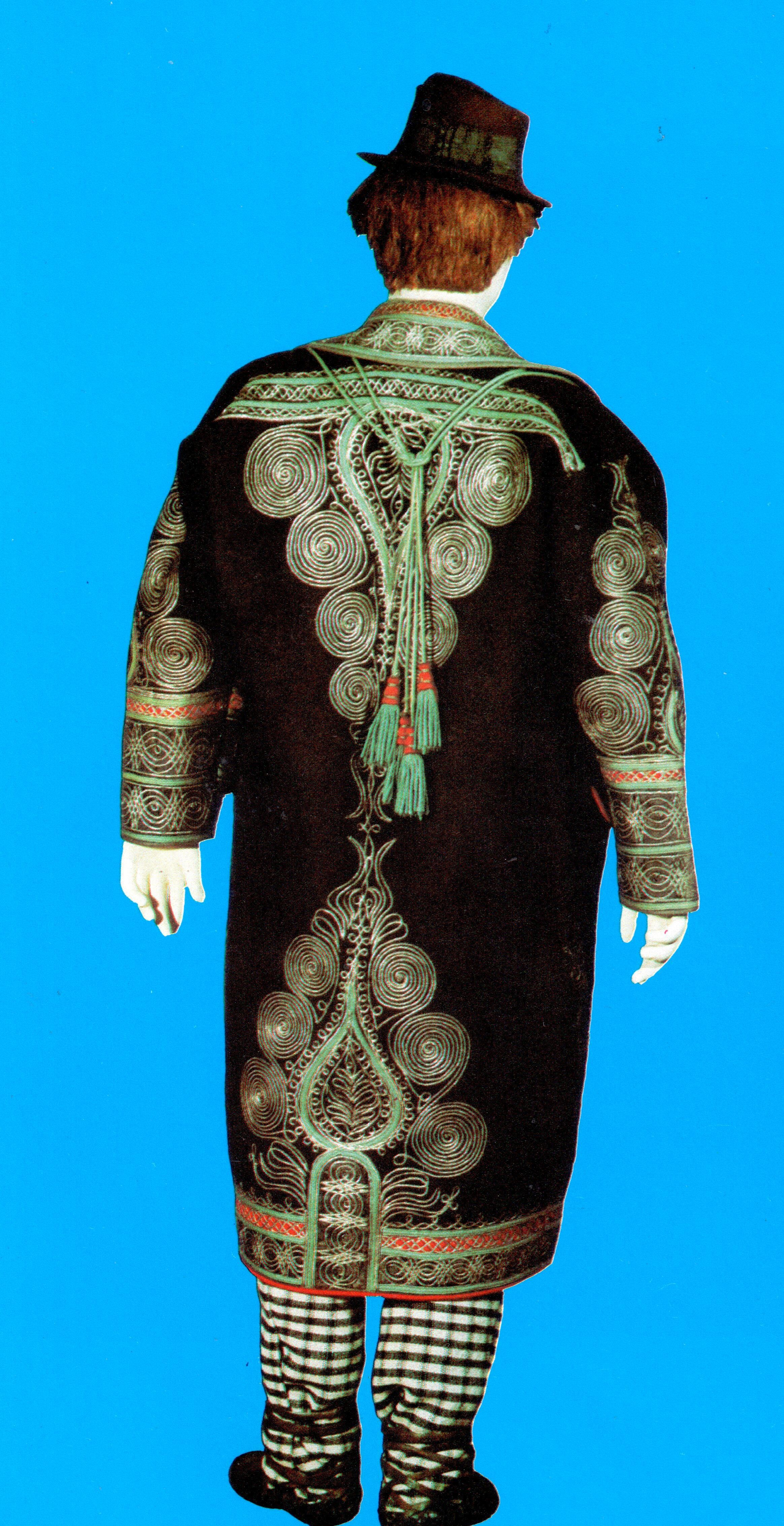 Croatia Zupanja Gradiste Man In Decorative Coat The Etnographic Museum Of The City Of Zagreb City Of Zagreb Gradiste National Dress