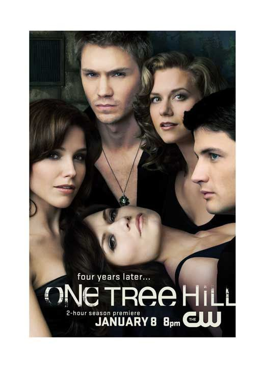 One Tree Hill 27x40 Tv Poster 2003 One Tree Hill Cast One