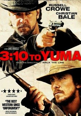 3:10 to Yuma (2007) In this remake of the 1957 classic, Dan Evans agrees to transport the captured outlaw Ben Wade to the nearest town with a rail station, where they'll catch a ride to court. But all the while, Wade's henchmen are plotting their next move.