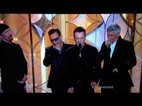 U2 Win Golden Globe For Ordinary Love Over Coldplay S Atlas But They Thank Chris For Helping With The Song Musician Golden Globes Songs