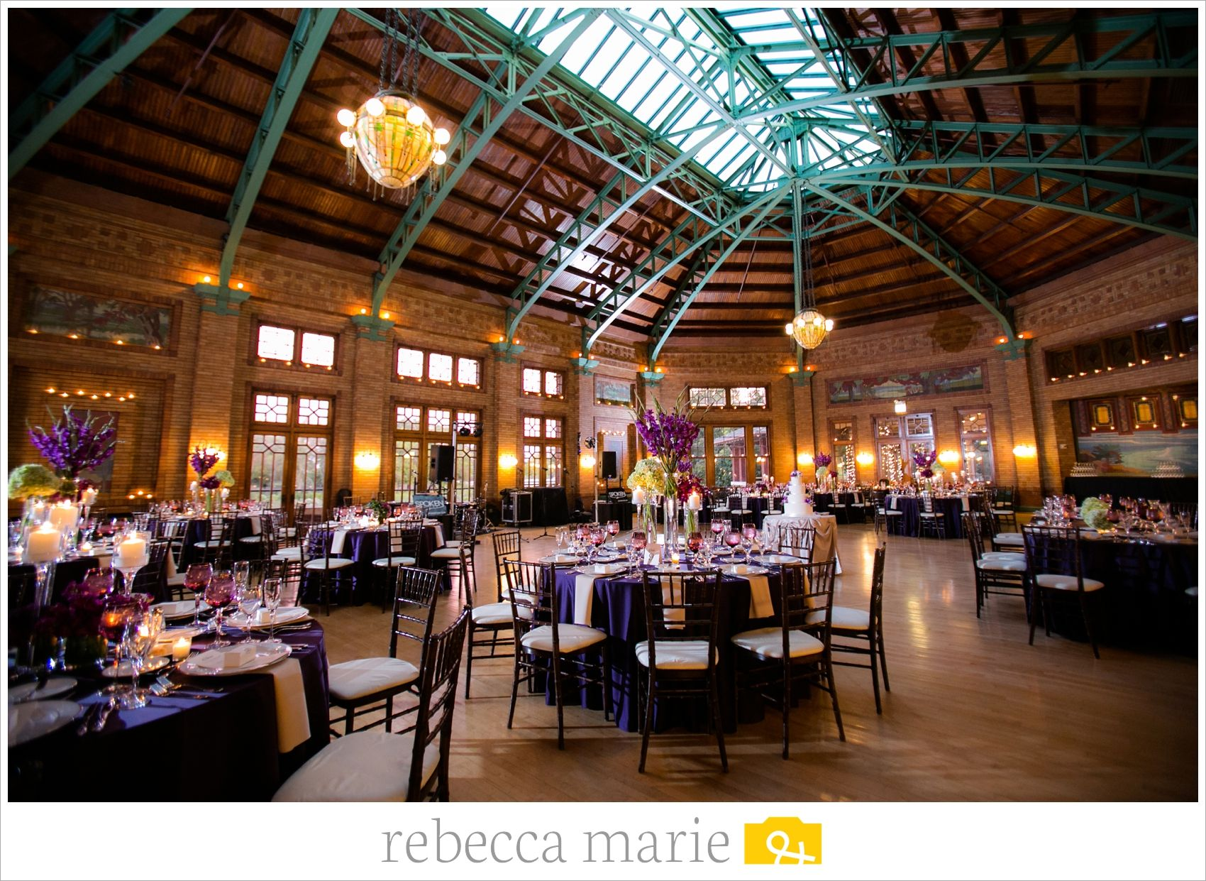 Cafe Brauer Wedding Rebecca Marie Photography Chicago