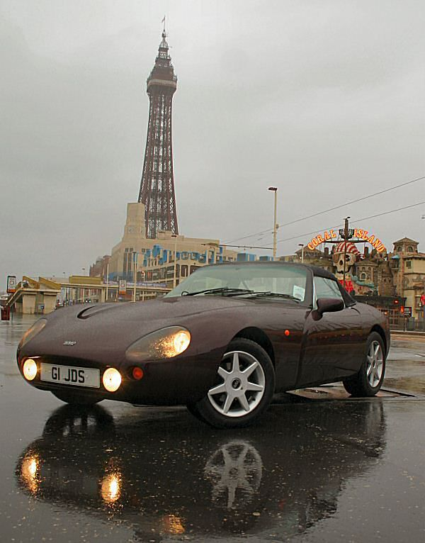 Tvr Griffith 500 It Is A Fierce Thing To Drive Tvr Pinterest