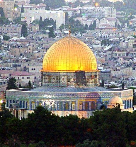 روعة مسجد الصخرة  Splendor of the Rock mosque
