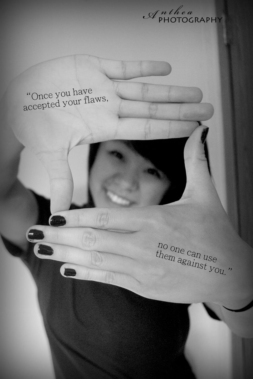 """""""once you have accepted your flaws, no one can use them against you""""  #antheaphotography #selfworth #beauty"""