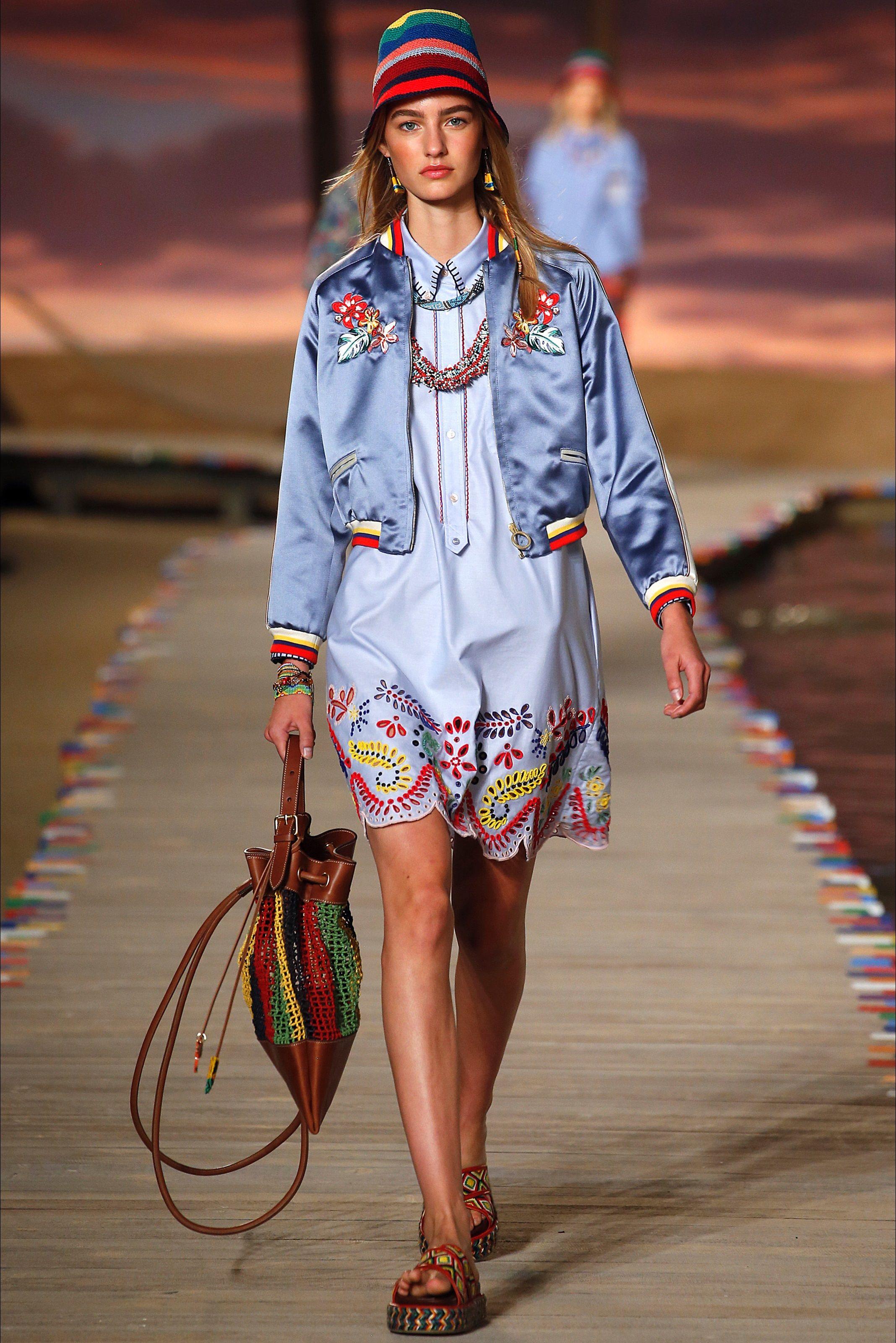 Sfilata Tommy Hilfiger New York - Collezioni Primavera Estate 2016 - Vogue