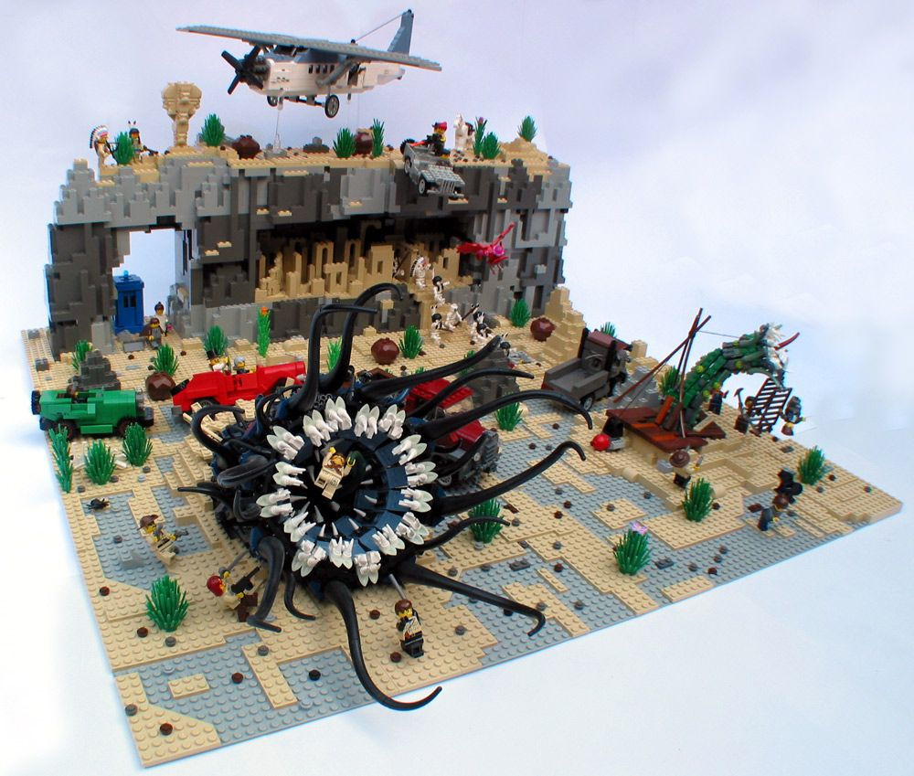 Lego Ideen.These Cthulhu Lego Sets Will Drive You Insane With Little