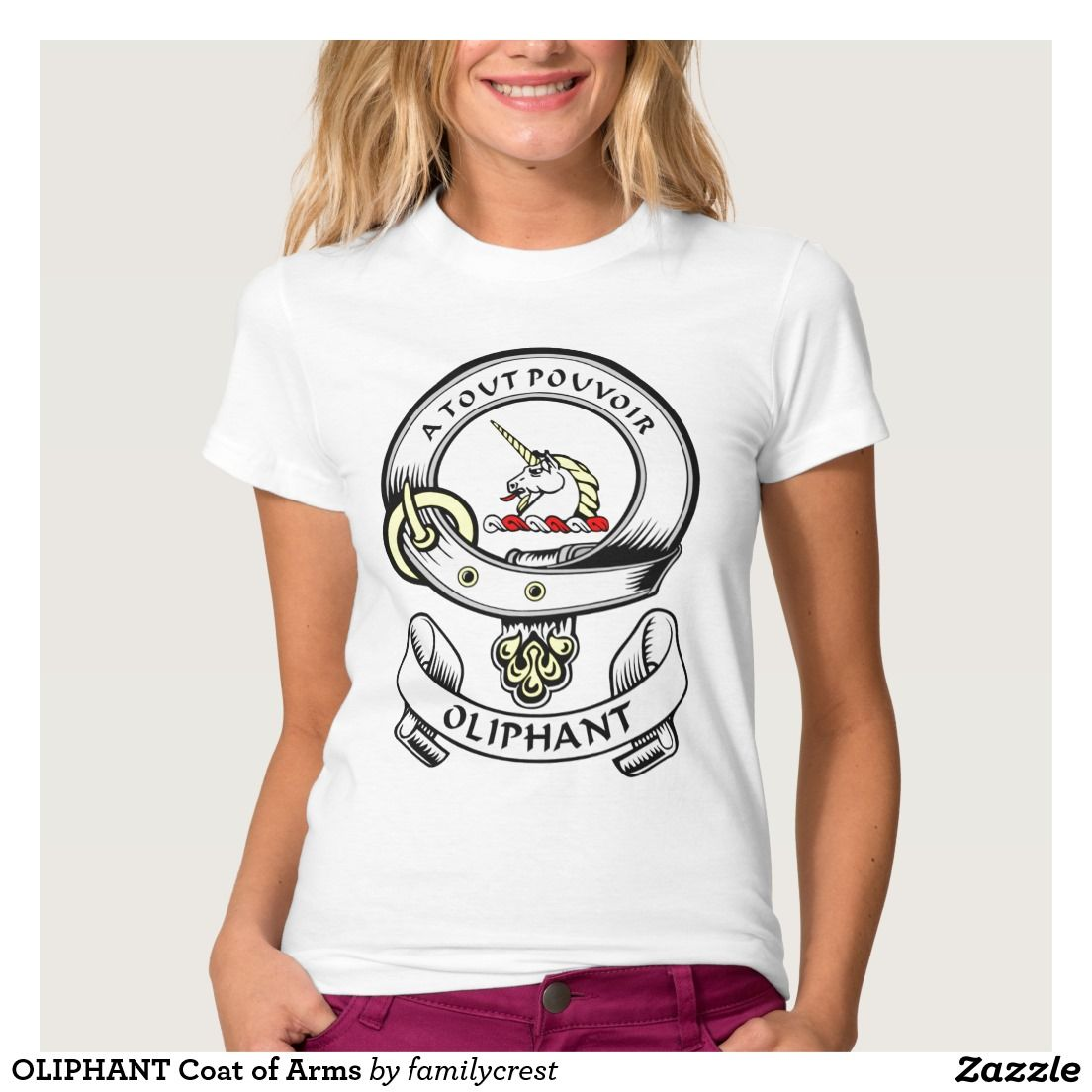 OLIPHANT Coat of Arms Tee Shirt