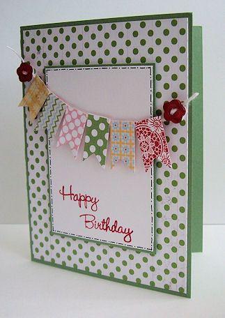 Stampin Up Birthday Card Birthday Card Inspiration Pinterest