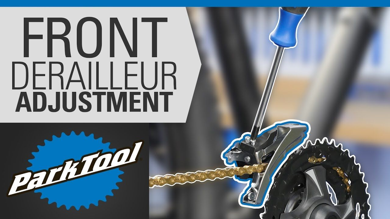 How To Adjust A Front Derailleur Bike Repair Bicycle Maintenance Road Bike Vintage