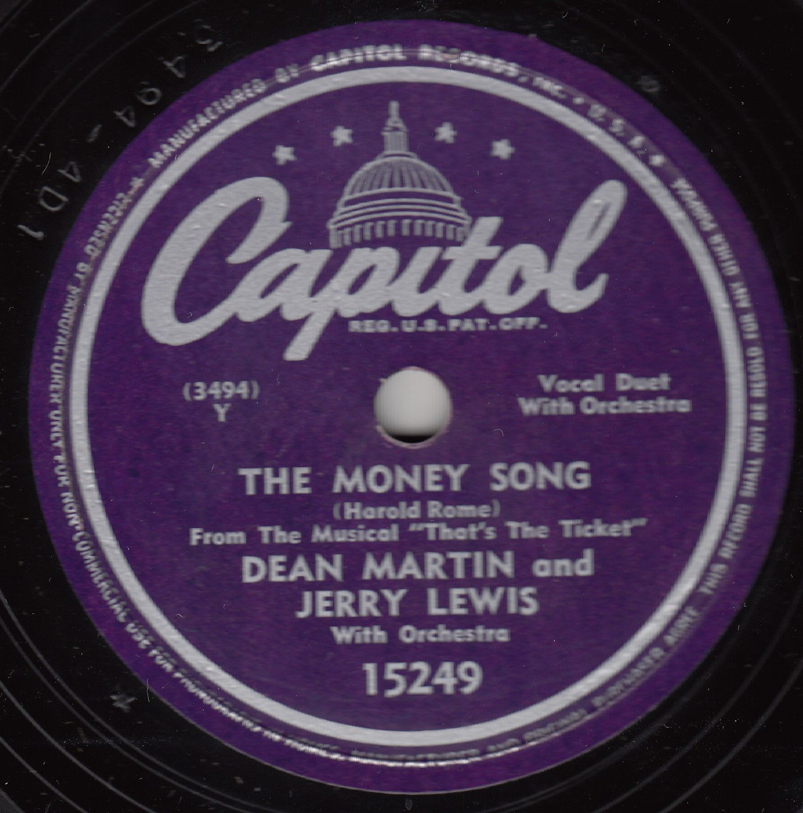 Dean Martin Amp Jerry Lewis The Money Song 1948 Money