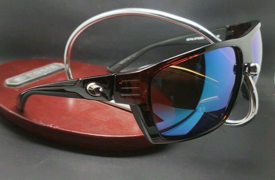 56a0fcb832b6f Costa Del Mar Hamlin HL-10 Tortoise Frame Green Mirror 580G Glass Polarized  New
