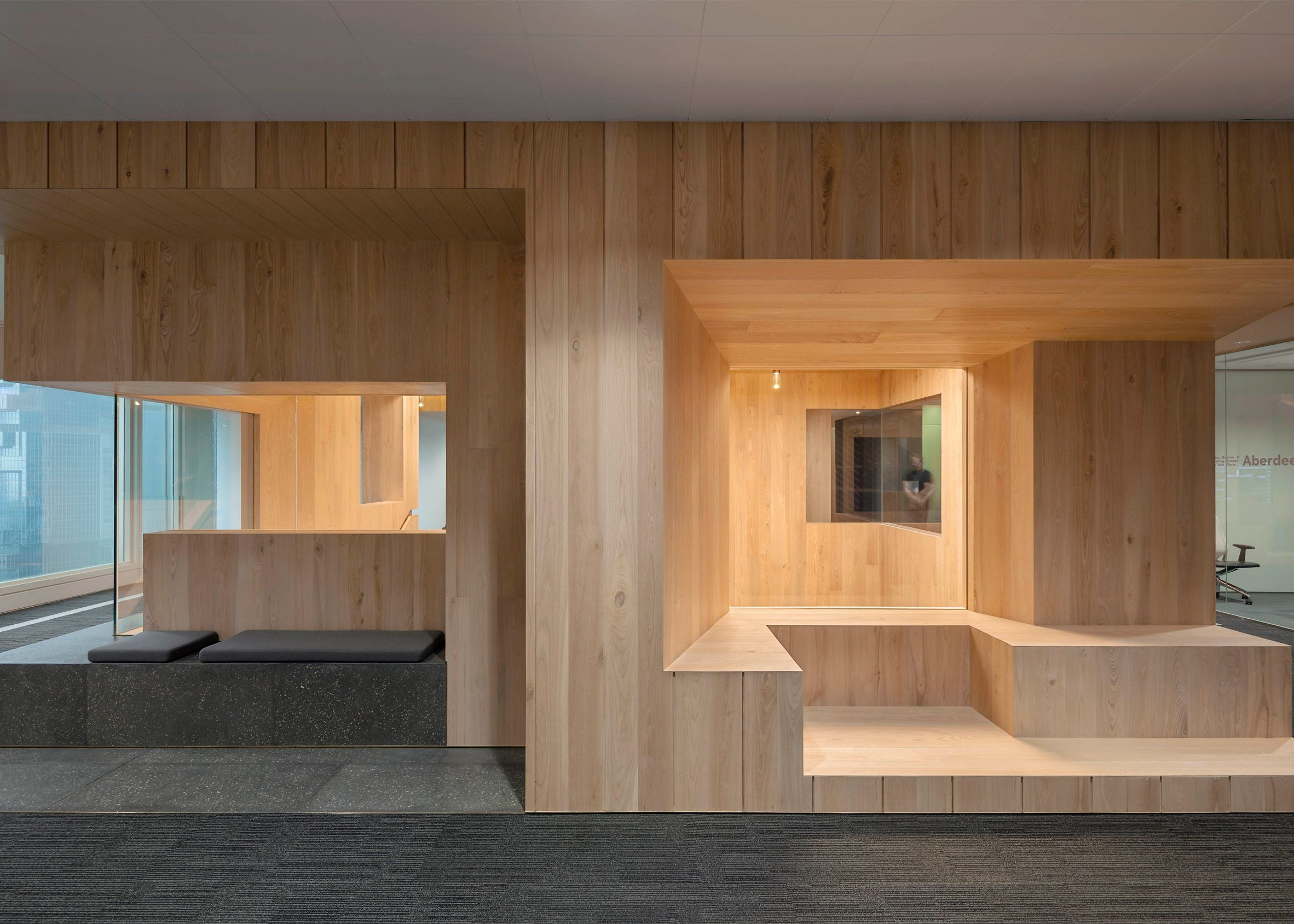 office space in hong kong. Image 25 Of 34 From Gallery Bloomberg Hong Kong Office / Neri\u0026Hu Design And Research Office. Photograph By Space In