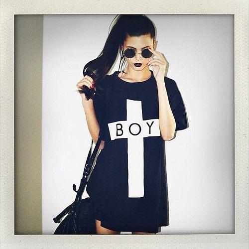 boy london t shirt ladies