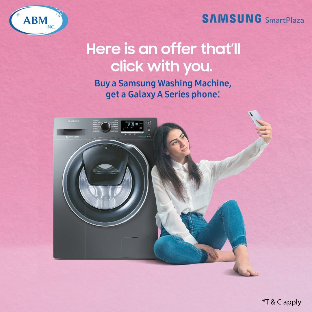 Exclusive Samsung Smart Plaza Offer. Buy a Samsung