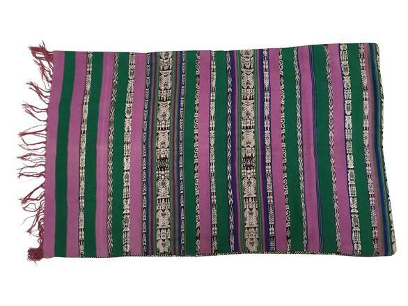 Jaspe Corte Guatemalan Pillow Cover on Chairish.com