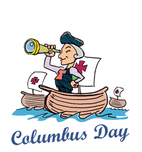 columbus day images christopher columbus day clip art happy rh pinterest com columbus day clipart free Columbus Day Graphics
