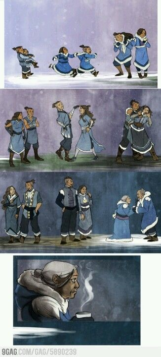 NOOOO THIS IS SO SAAAAD..... Maybe Sokka and Suki are still alive and they're on Kyoshi Island. Oh I hope so..... :'(
