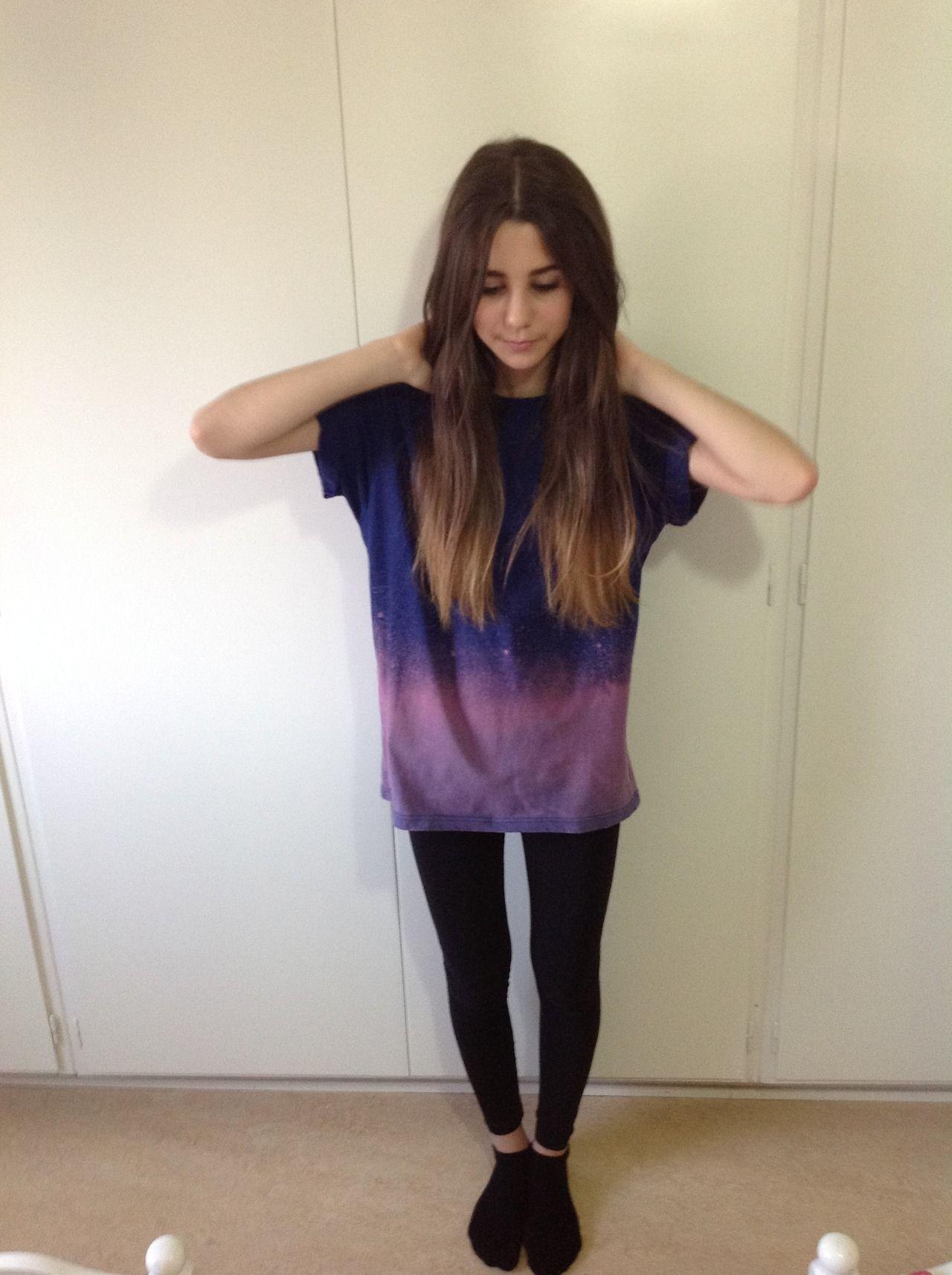 Hot teen girl dark hair