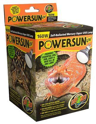 Powersun Uv Zoo Med Reptiles Bearded Dragon Care