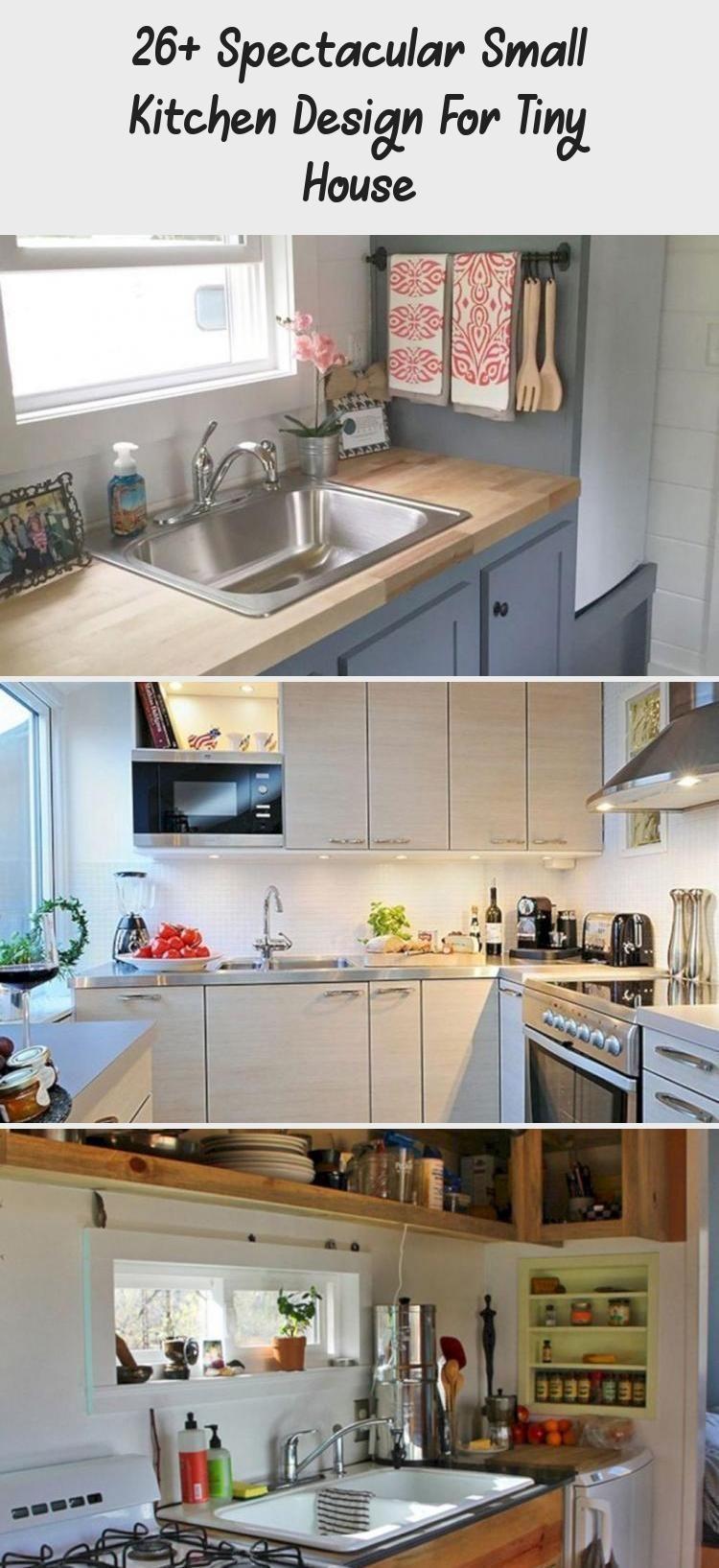 9+ Spektakuläres Design für kleine Küchen für kleine Häuser ...