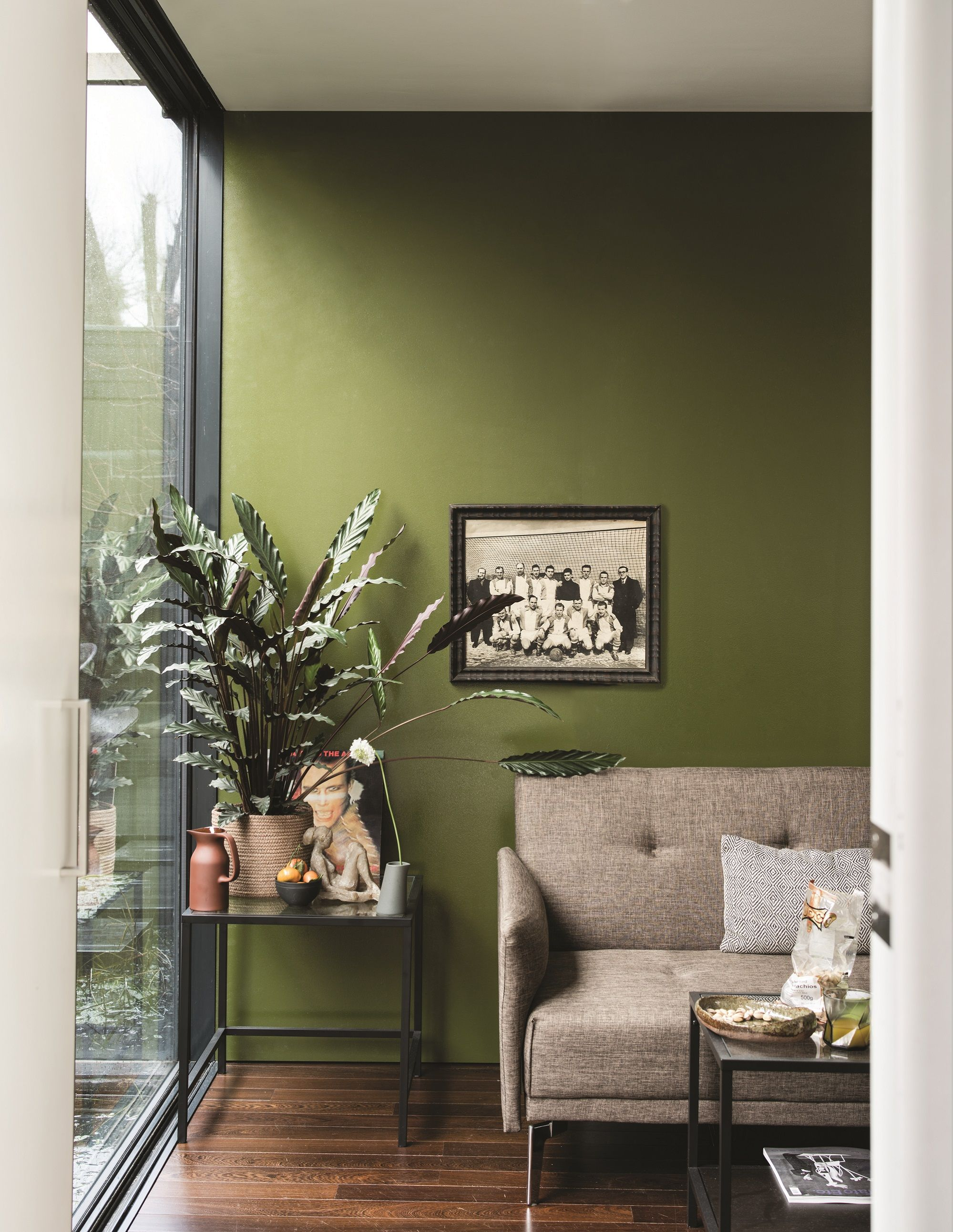 Explore The New Paint Shades From Iba18 Sponsor Farrow Ball Interior Blog Awards Paint Colors For Living Room Living Room Colors Living Room Green Olive green paint living room