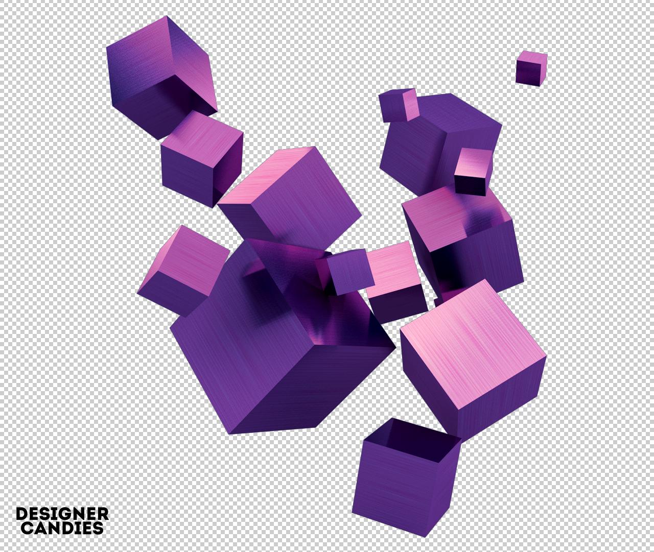 Free 3d Cube Clusters Designercandies Design Freebie Cube 3d Cube