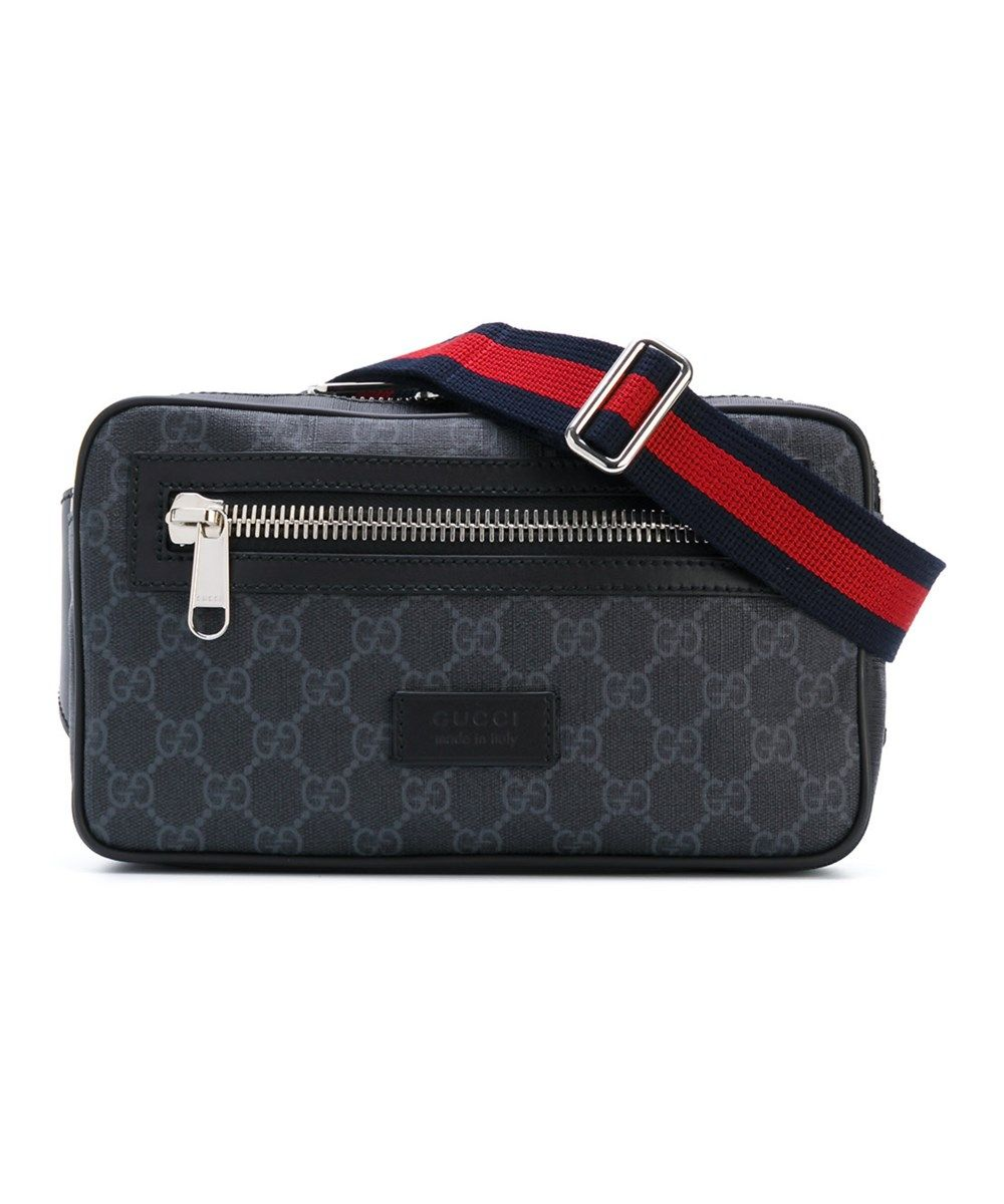 4531011ce GUCCI Gucci Men'S Black Leather Messenger Bag'. #gucci #bags #shoulder bags  #leather #