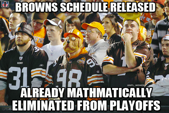 steeler jokes about the browns Credit NFL Memes