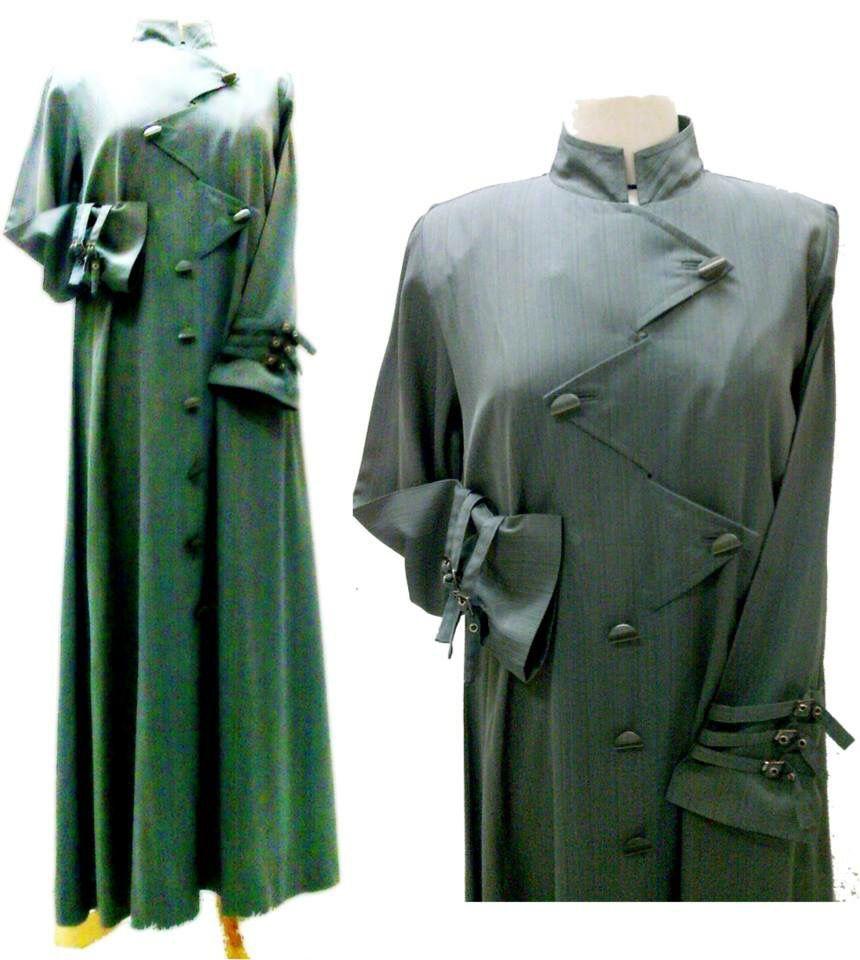 جلباب زكزاك من مجموعة أمواج السعر Price 4545jd 63 45 الأقمشة القماش بوليستر ولكن هذا التصميم يمكن عمله بنوع قماش مختلف Coat Fashion Trench Coat