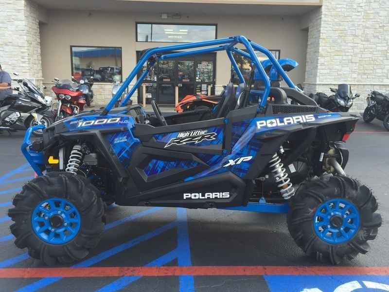 New 2017 Polaris RZR XP 1000 EPS High Lifter Edition Velo ATVs For Sale in Texas.