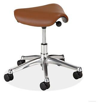 Freedom Pony Saddle Stool In Leather Office Chairs Office Room Board Pony Saddle Chair Stool