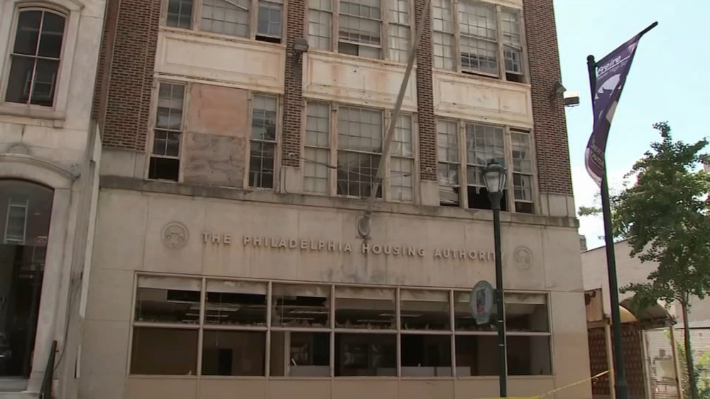 Philadelphia Police Are Searching For The Person Who Set Fire To The Philadelphia Housing Authority Building In Center City Center City Building Arson