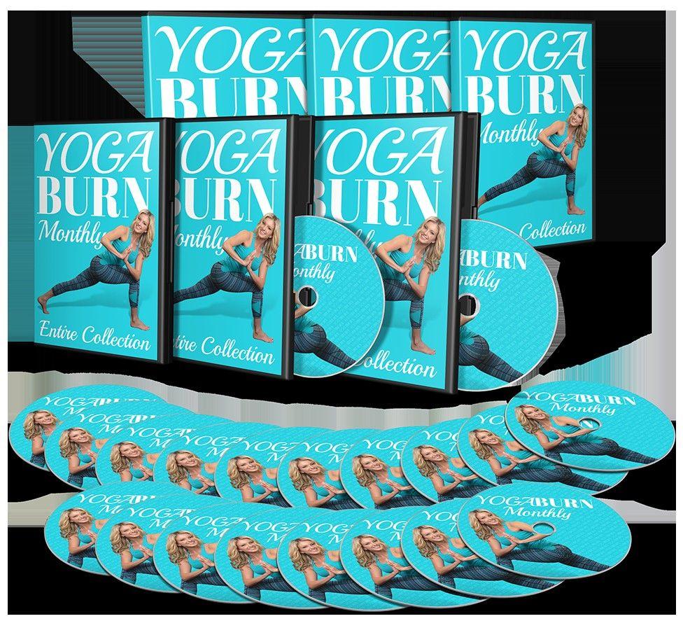 Yoga Burn For Womens Yoga, Yoga program, Burns