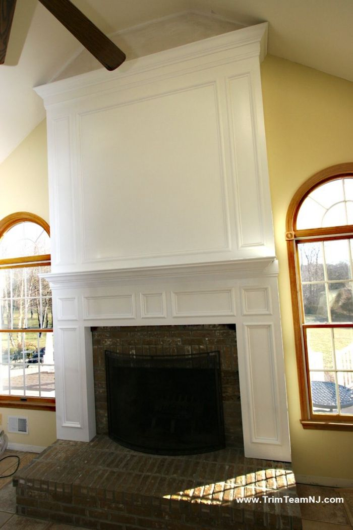 Trim Team Nj Woodwork Fireplace Mantles Home Improvement Fireplace Mantle Fireplace Home