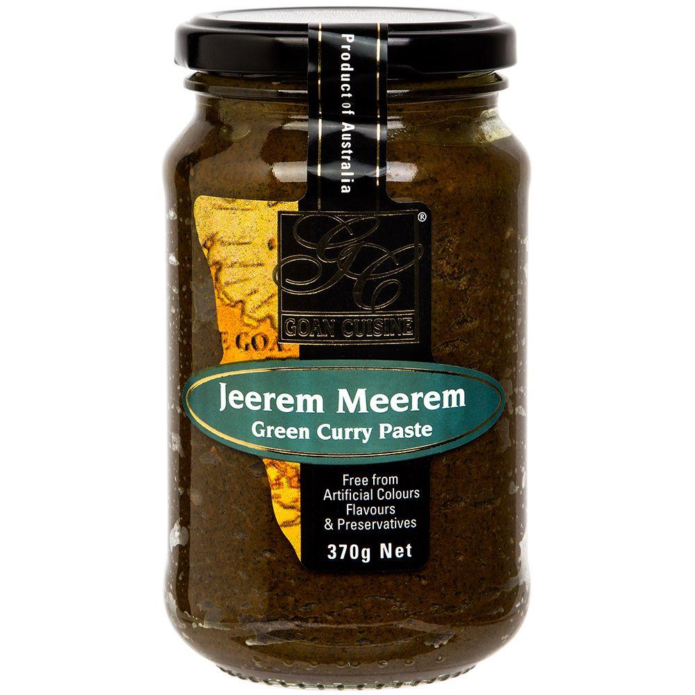 Goan Jeerem Meerem Green Curry Paste 370g Peter's of
