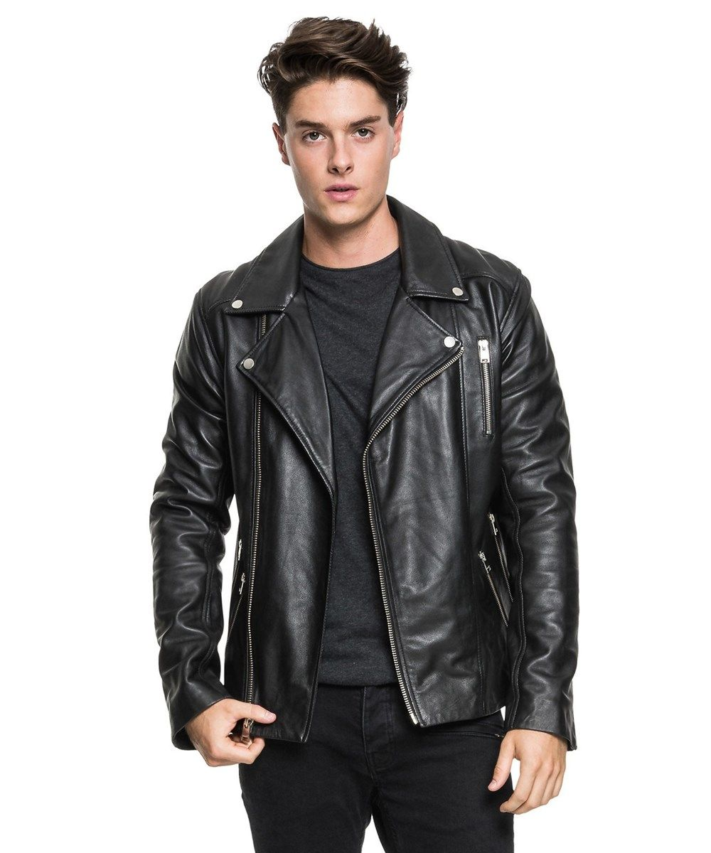 d5fa9239e5da LAMARQUE Enforcer Leather Biker Jacket.  lamarque  cloth ...