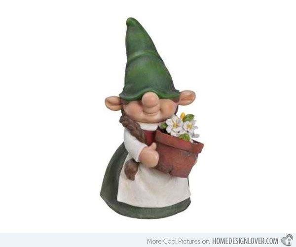 Biker Gnome Couple | Funny Garden Gnomes