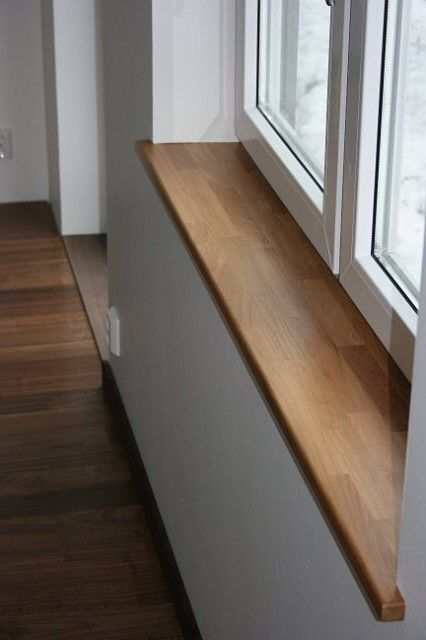 wooden windowsill windowsils pinterest fenetre interieure tablette et tag res en bois. Black Bedroom Furniture Sets. Home Design Ideas
