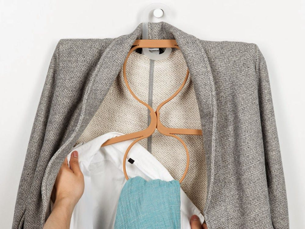 Tiny-Ass Apartment: Hung Up: Doubling your closet space with ...