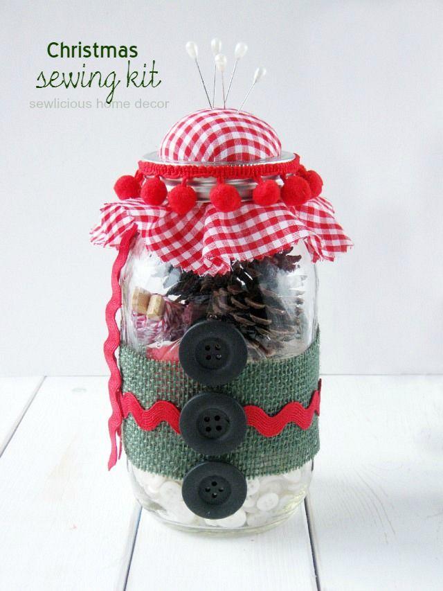 DIY Christmas Sewing Kit Christmas sewing, DIY Christmas and