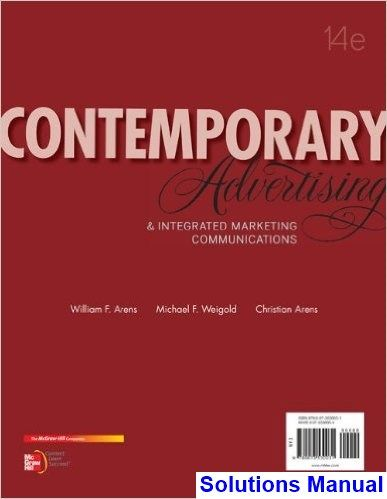 Contemporary advertising and integrated marketing communications contemporary advertising and integrated marketing communications 14th edition arens solutions manual test bank solutions fandeluxe Image collections
